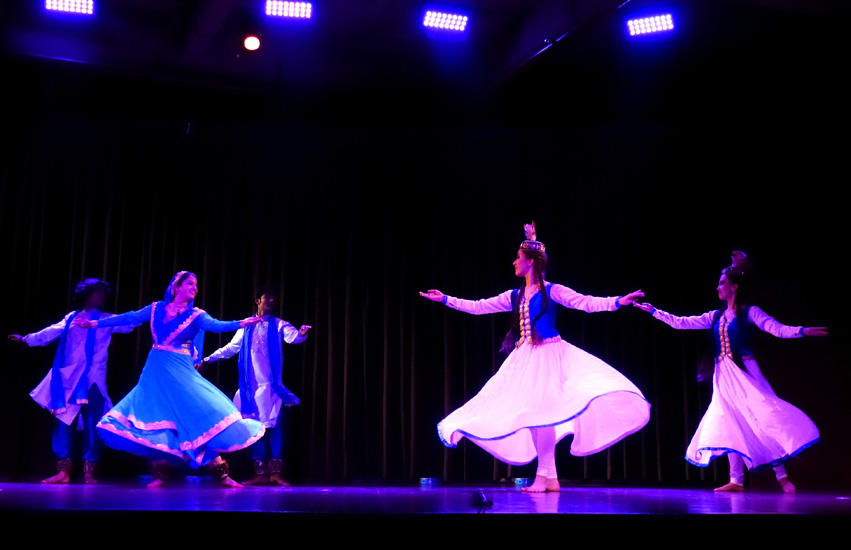 Kathak and Dancers of Kazakhstan by  Richa Jain