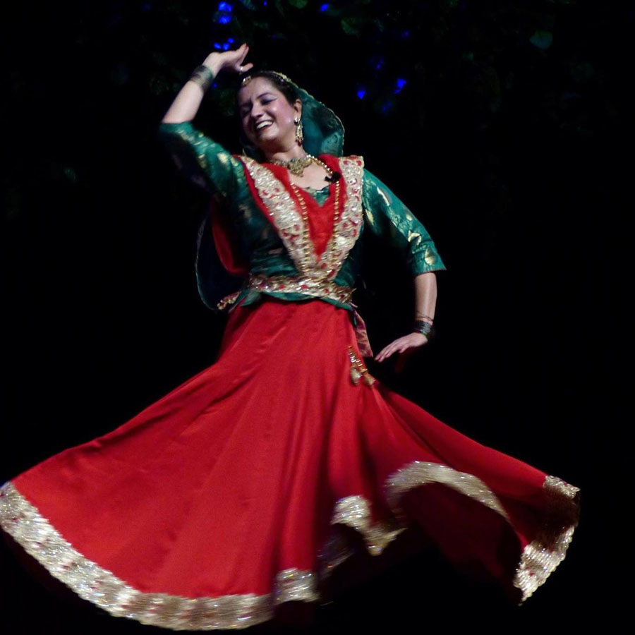 Performance at Kathak Mahotsava, kamani Auditorium, New  Delhi  ..