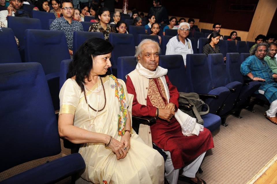 Pt Birju Maharaj Ji ,in conversation with Mrs Nalini Malhotra Jain