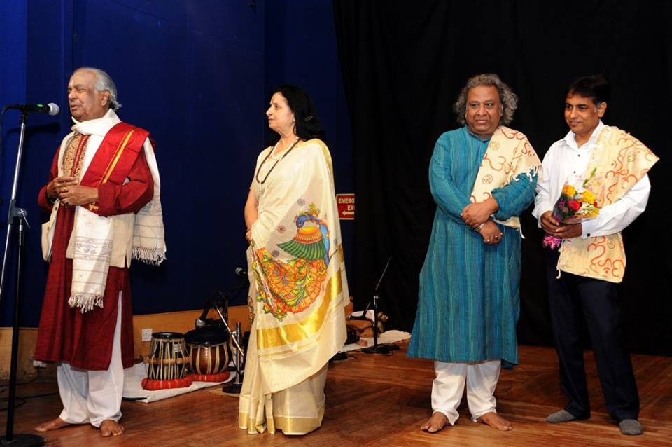 Pt Birju Maharaj as Cheif guest for Guru Ravi Jain Youth Festival