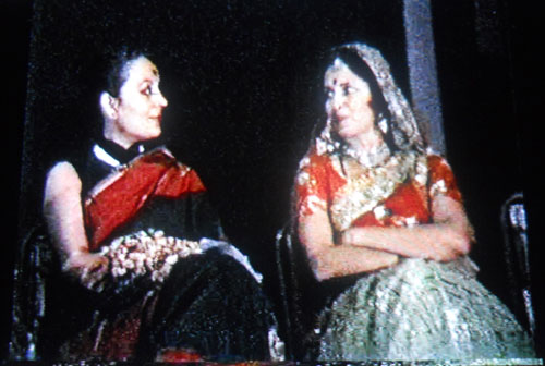 Nalini Malhotra Jain with Legendary Odissi and Bharatnatyam exponent Mrs Sonal Mansigh