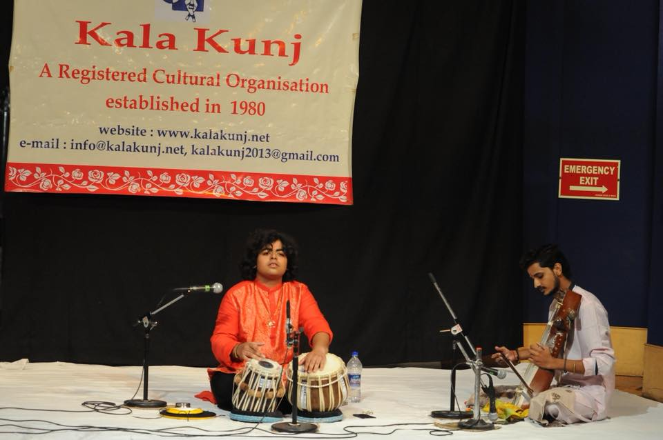 Rahul kumar Mishra at 2nd Guru Ravi Jain Youth Festival